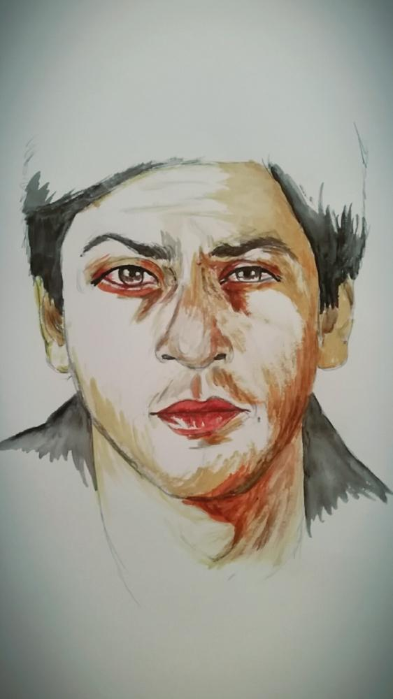 Shahrukh Khan by Uribaba